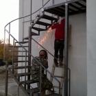 металлическая лестница 12
