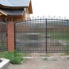 металлические ворота 10