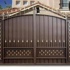 металлические ворота 3