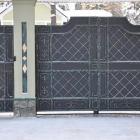 металлические ворота 11