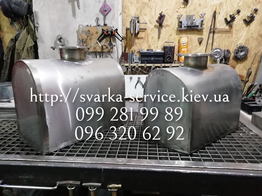 изготовление баков на заказ Киев